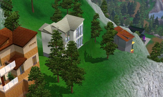 Building 'cabins' in Hidden Springs