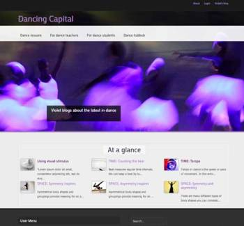Dancing Capital website