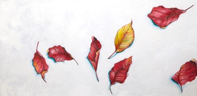 Fall remnant: leaf 2013